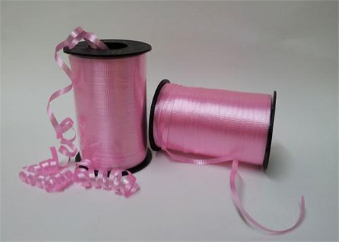 Hot Pink Curly Ribbon 5mm X 500 Yards (1 Roll)