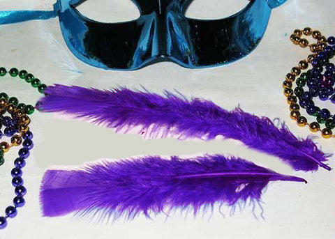 4 to 6 Inches Purple Feather ( 1 Bag of Appx 75- 100 Pcs)