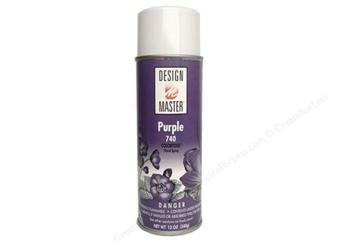 Design Master Purple Spray ( 12 oz)