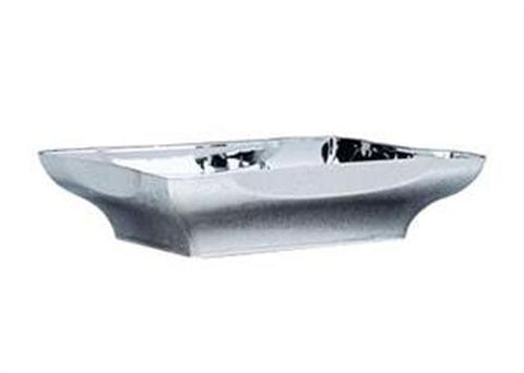 Metallic Silver Plastic Centerpiece Tray (1 Piece)