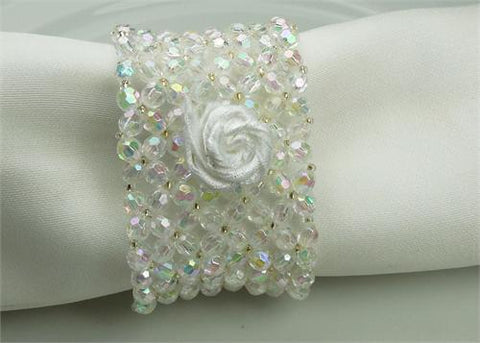 Ice Clear Wrist Corsage