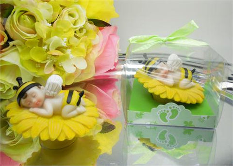 Baby Bumblebee  - Baby Shower Favor Yellow - 12 pcs