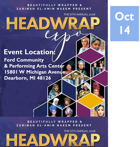 Headwrap Expo Pop-Up SOL-3 Avenue