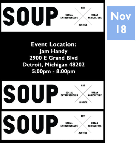Detroit Soup Pop-Up SOL-3 Avenue