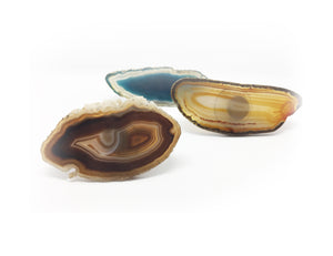 Bold & Beautiful Translucent Cafe Agate Bracelet