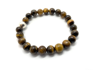 Tiger Eye Natural Stone Bracelet