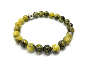 Yellow African Turquoise Natural Stone Bracelet