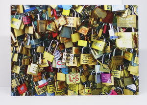 Love Locks Greeting Card