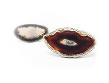Bold & Beautiful Speckled Noir Agate Ring