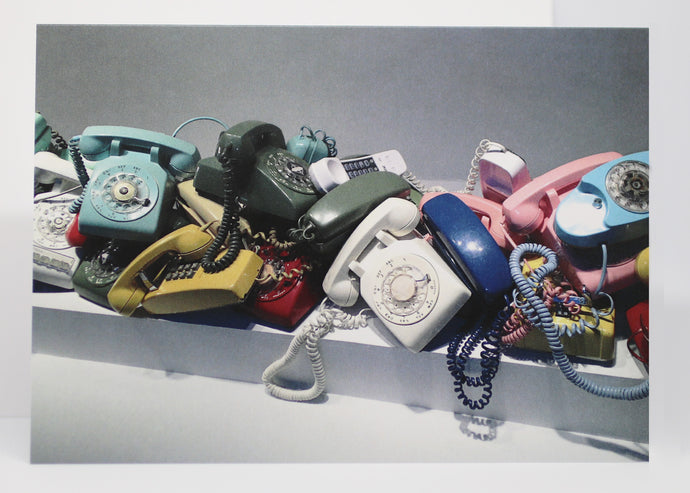 Telephone Calls Greeting Card