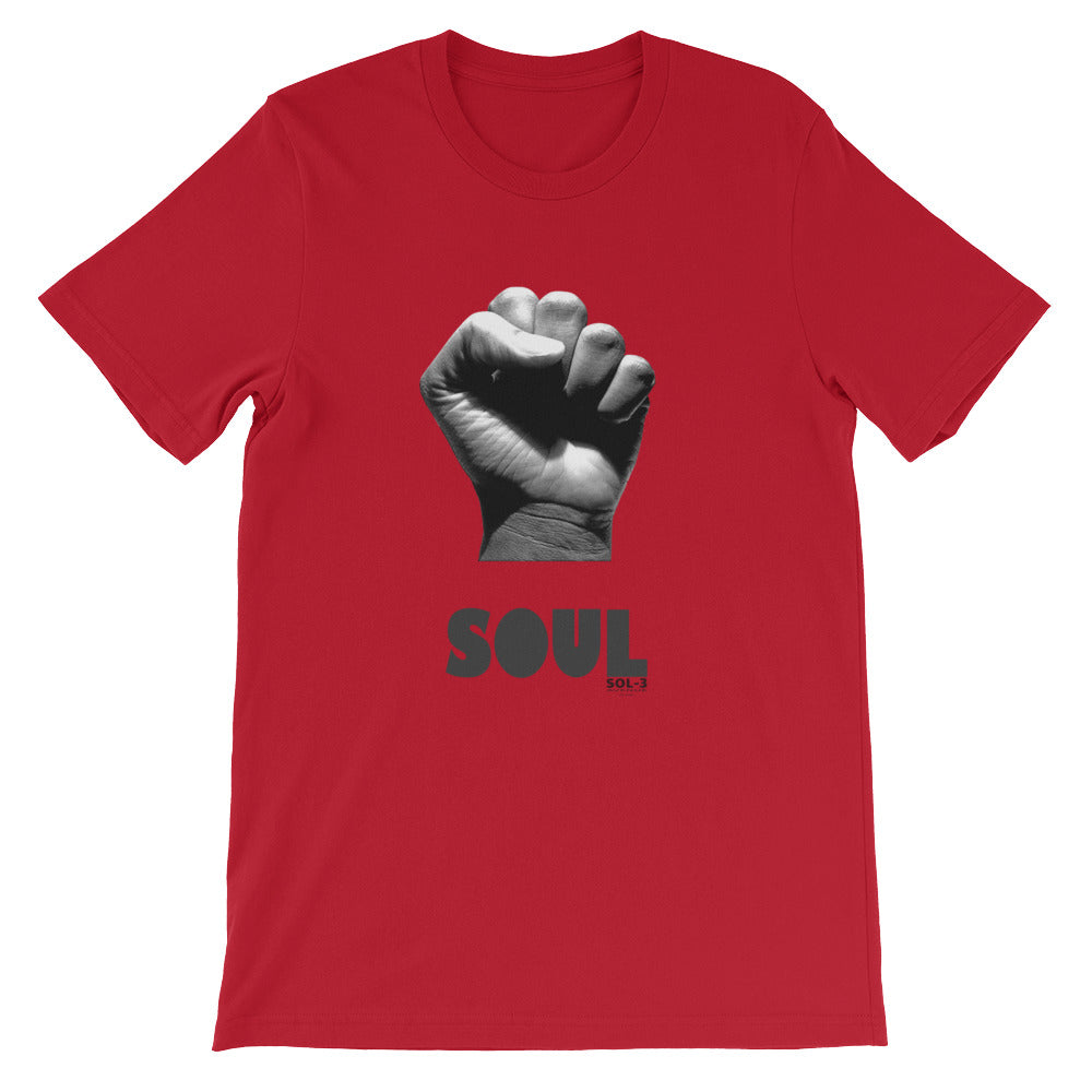 Soul Fist T-Shirt by SOL-3 Avenue Red