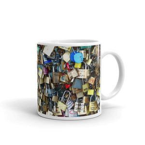 Paris Love Locks Mug