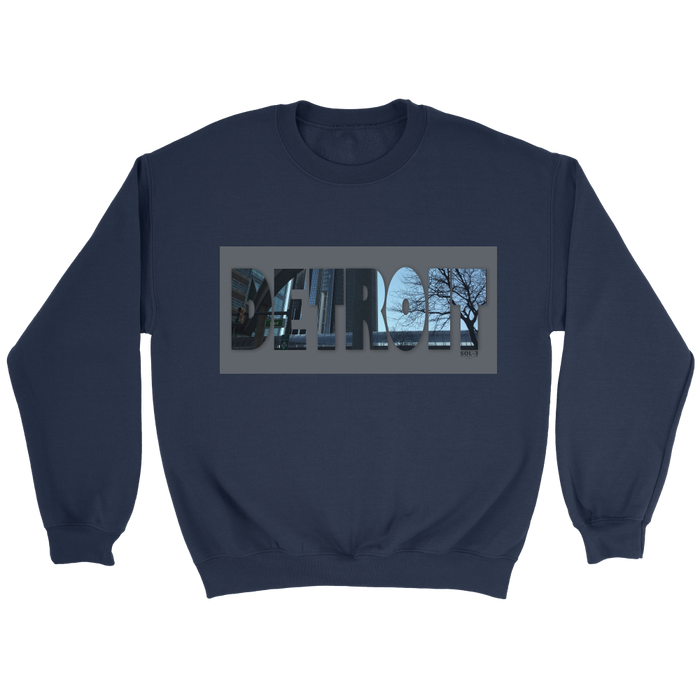 Detroit City Sweatshirt by SOL-3 Avenue