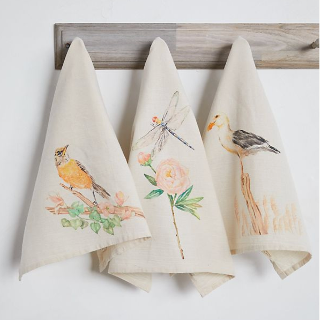 Spring Tea Towels 2020  x Anthropologie