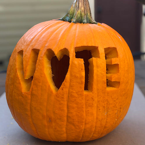 Carve a VOTE Pumpkin