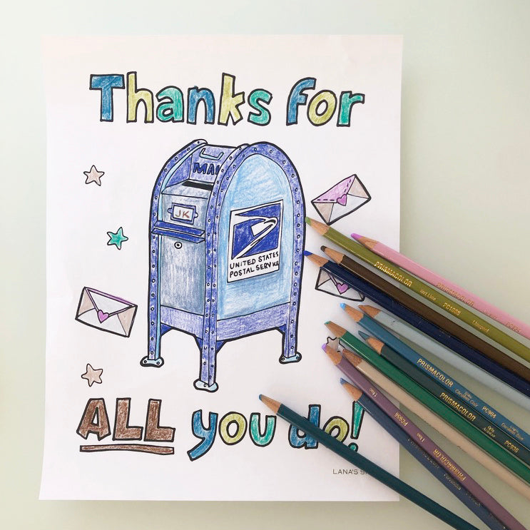 Thank a Mail Carrier Day