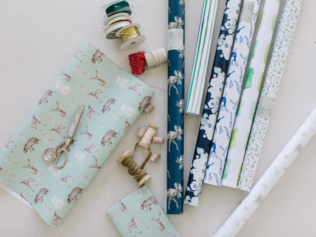 Gift Wrap + Tag