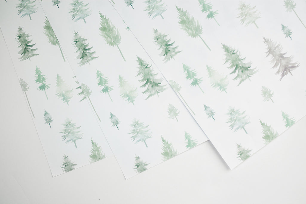 Peaceful Forest Gift Wrap