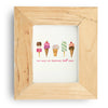 Ice Cream Happiness Art Print
