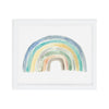 Blue Rainbow Art Print