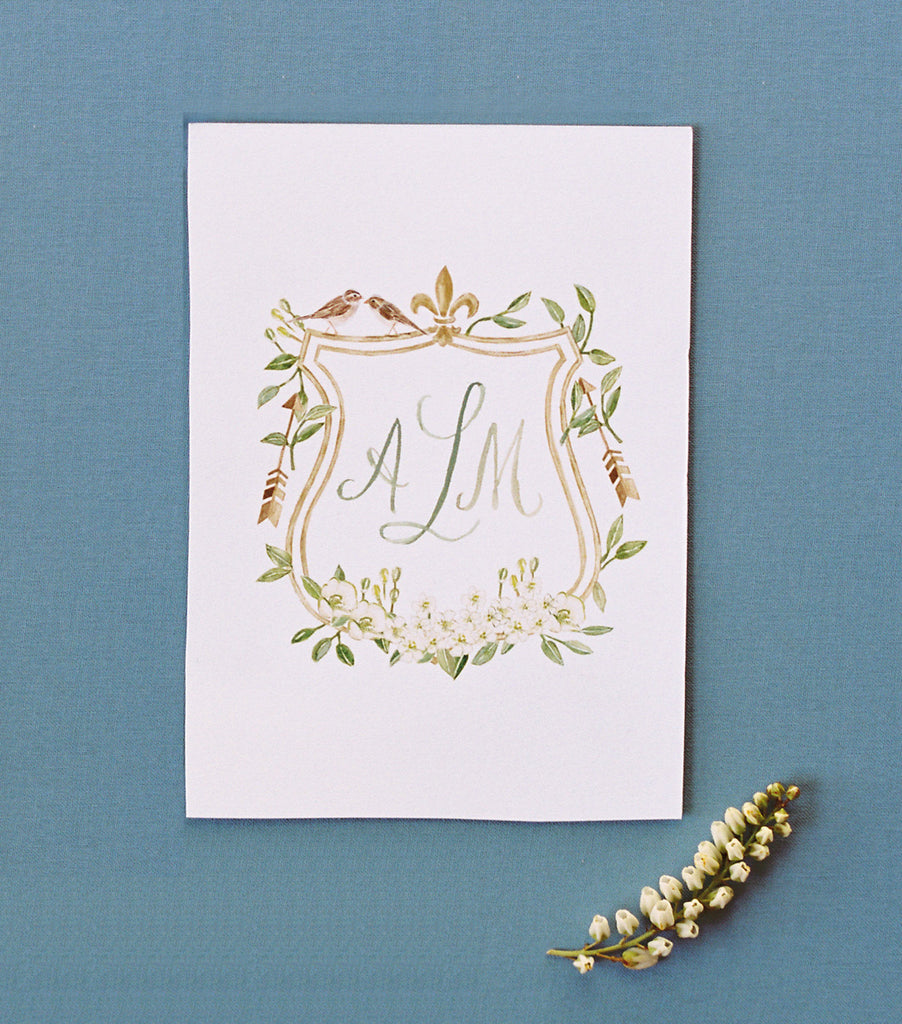 Make it a Monogram Wedding Gift