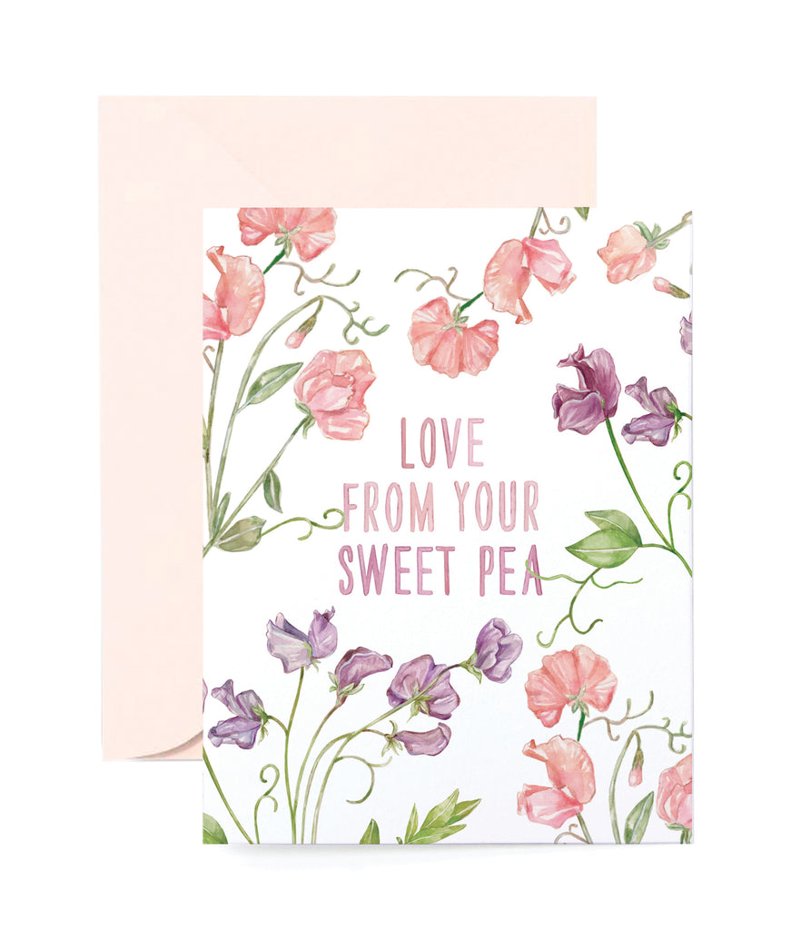 Love your Sweet Pea Card