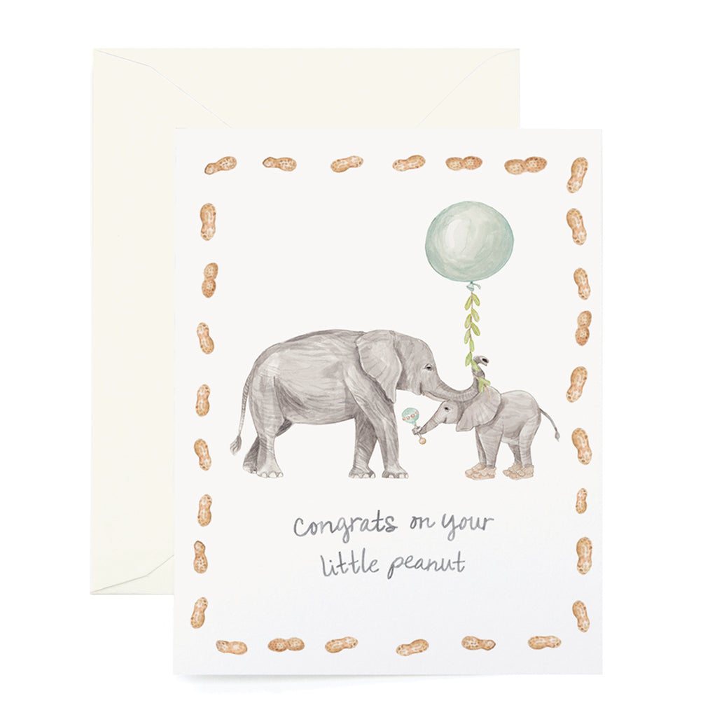 Little Peanut in Mint Card