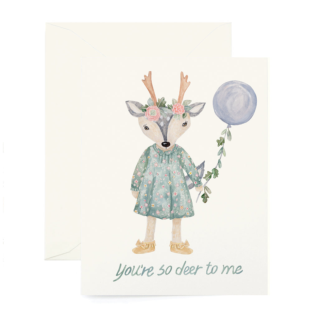 So Deer Card