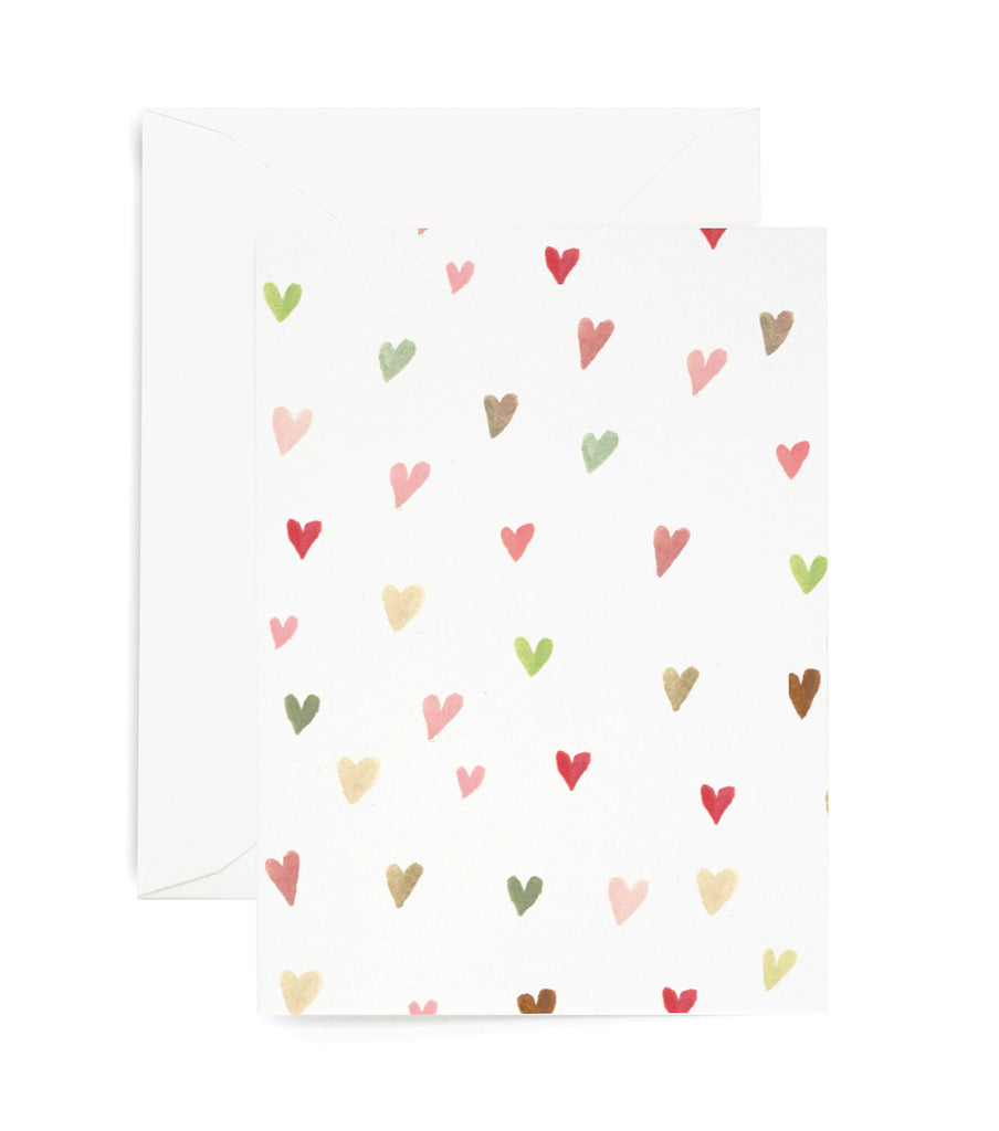 Mini Hearts for You Card
