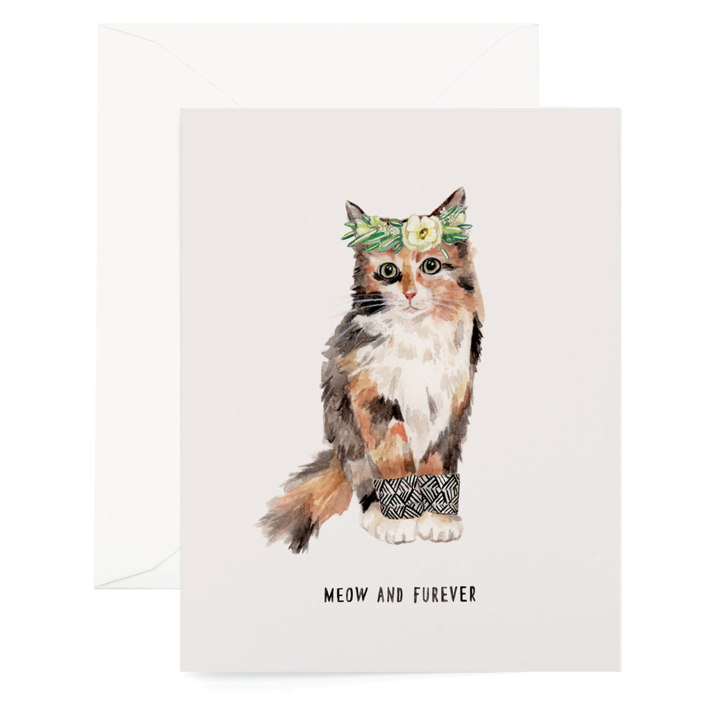 Meow and Furever Card