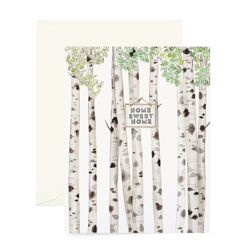 Birch New Home Card