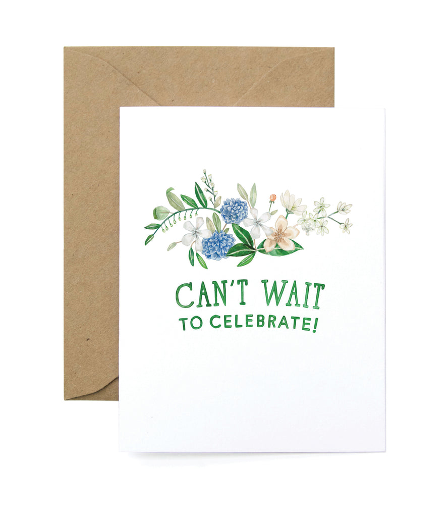 Celebration Blooms Card