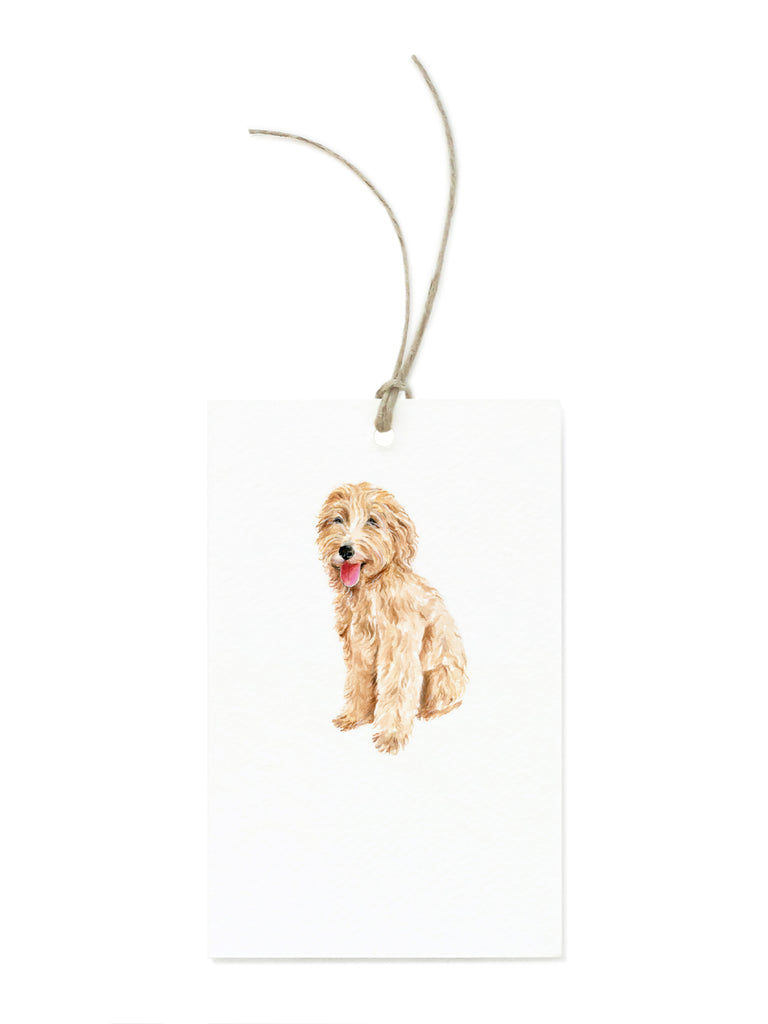 Goldendoodle Gift Tag Set