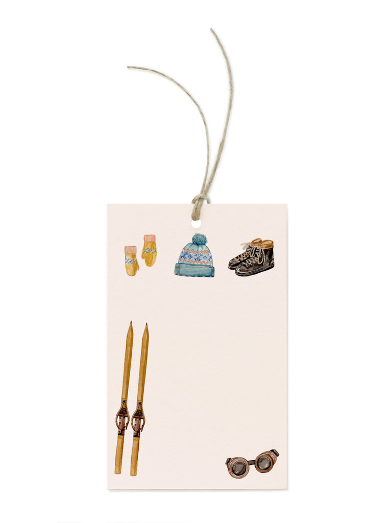Winter Gear Gift Tag Set