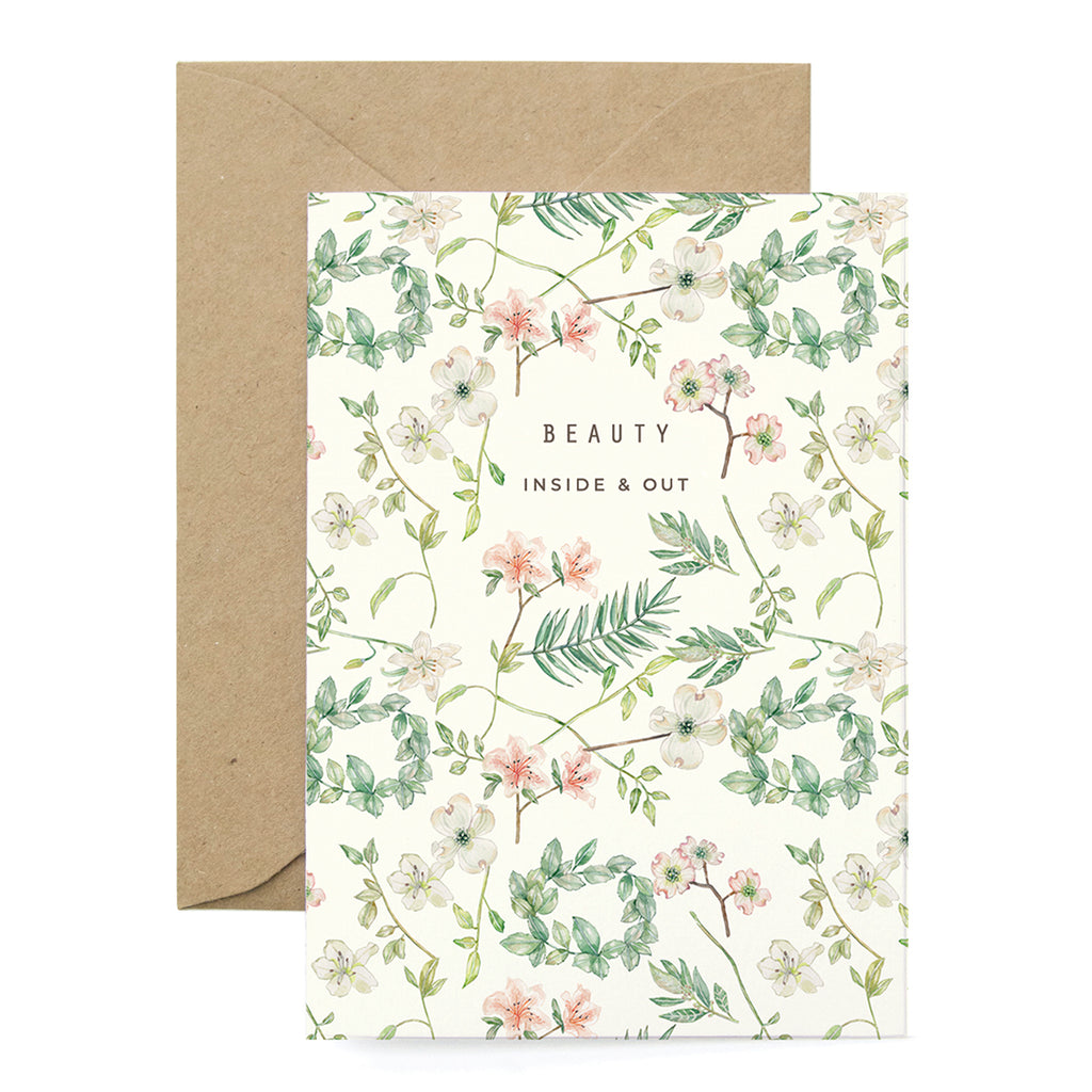 Beauty Inside and Out Card