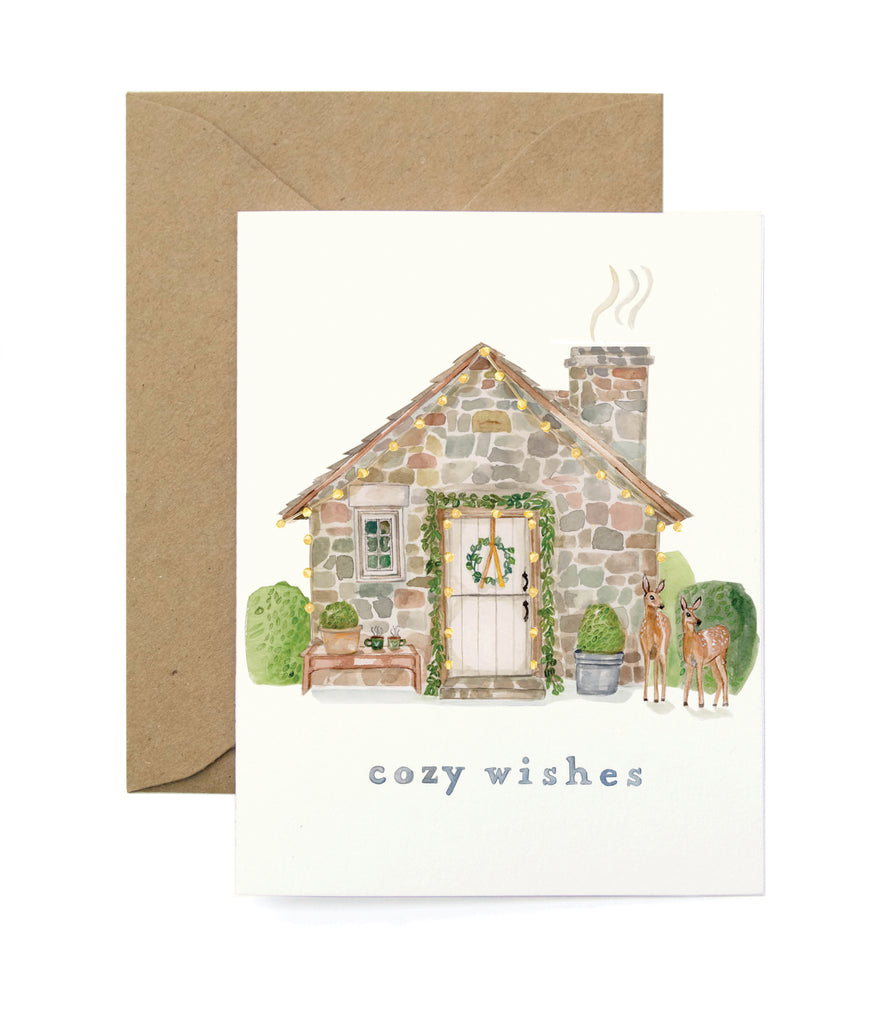 Cozy Wishes Card