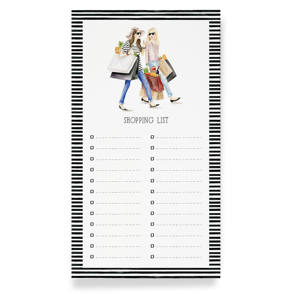 Best Friend Shopping List Notepad