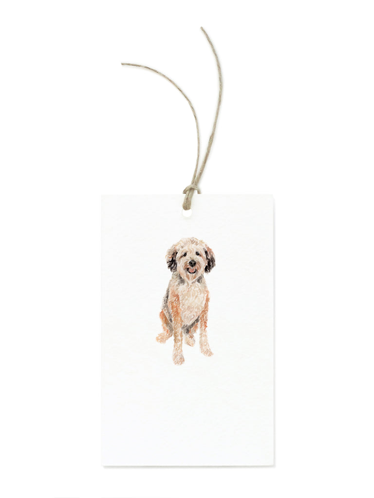 Wheaten Terrier Gift Tag Sets