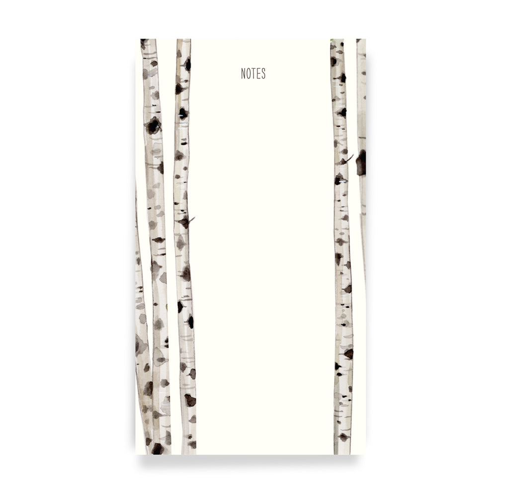 Birch Tree Notepad