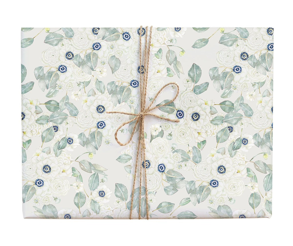 Calm Anemone Gift Wrap