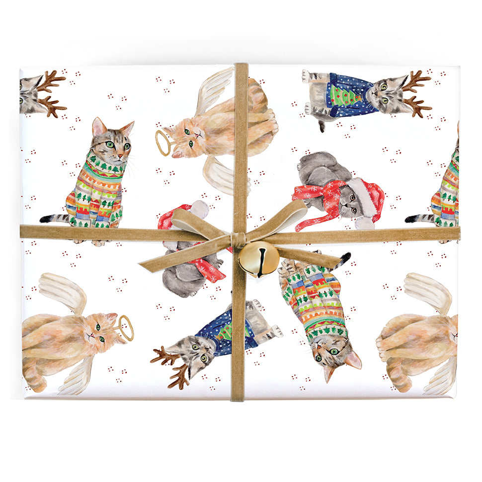 Cats Holiday Gift Wrap