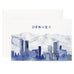 Denver Skyline Card