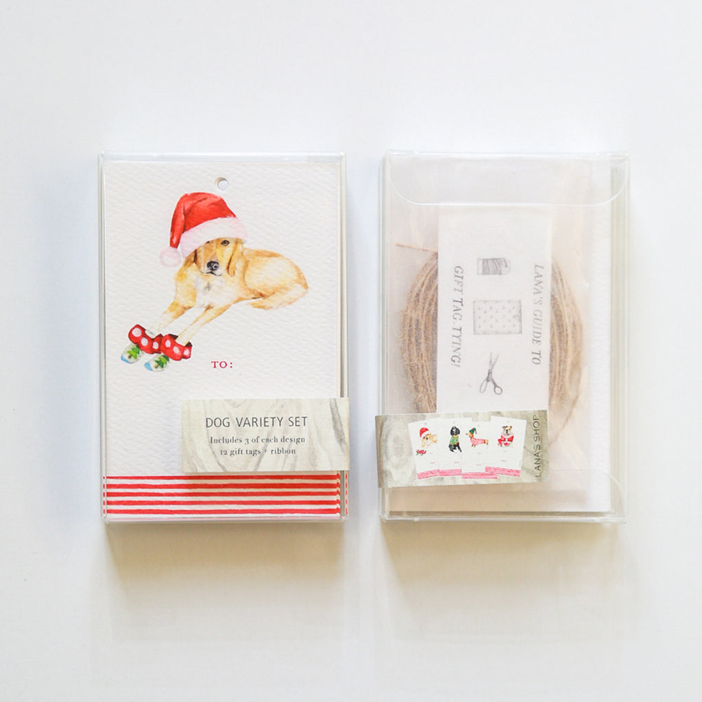 Dog Variety Gift Tag Set