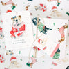 Festive Dog Holiday Wrapping Bundle