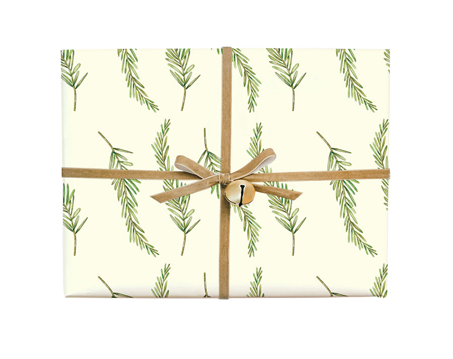 Fir Branch Gift Wrap