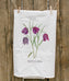 Fritillaria Painted Tea Towel