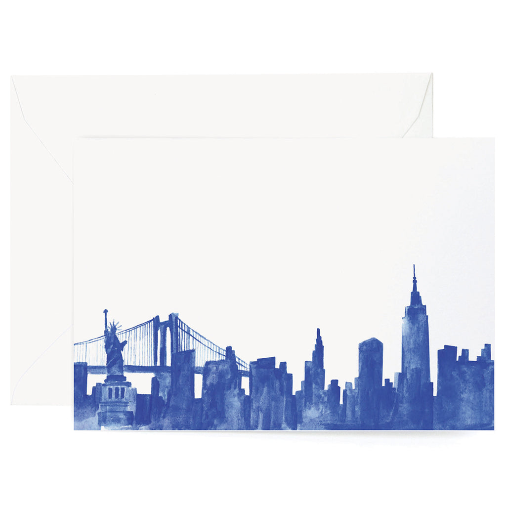 New York City Watercolor Card