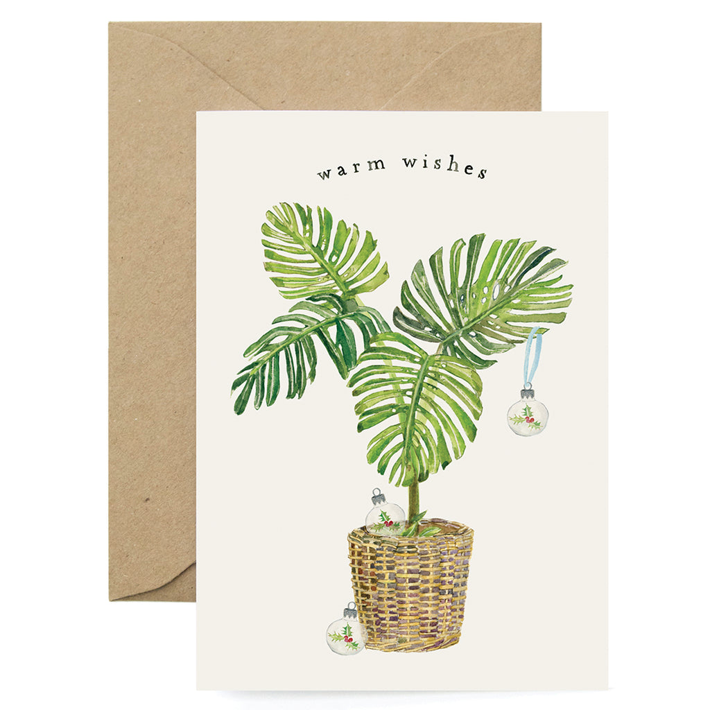 Holiday Fern Card