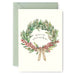 Berry Sprig Wreath Card