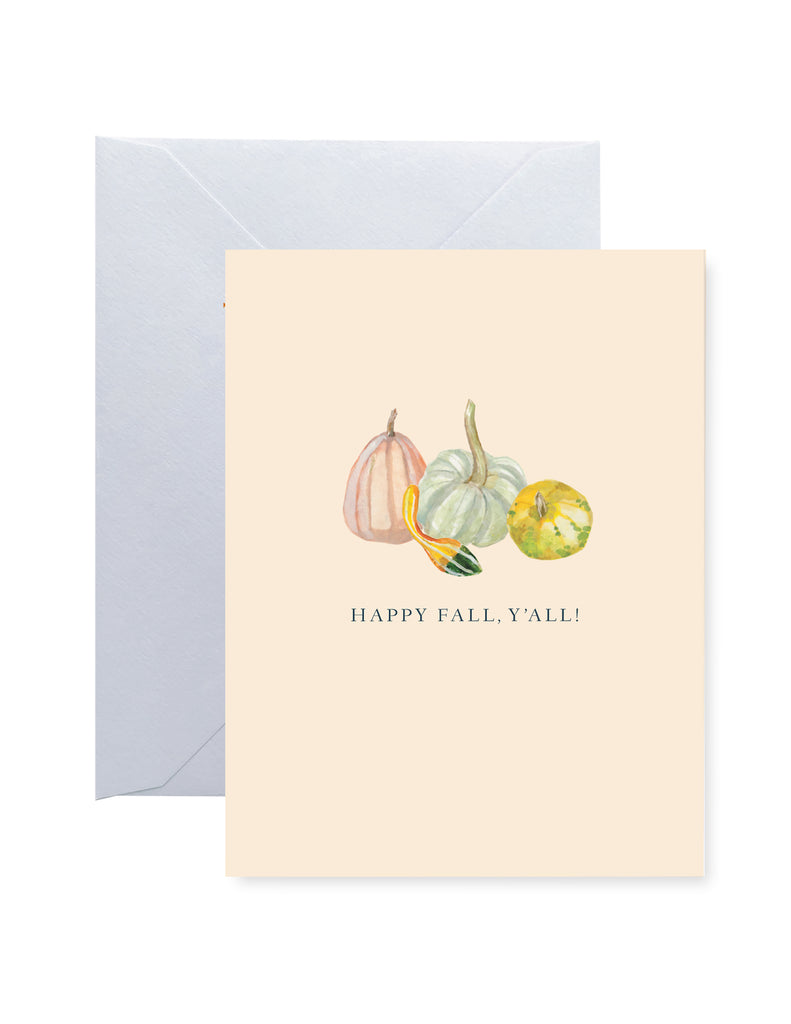 Happy Fall Ya'll Card